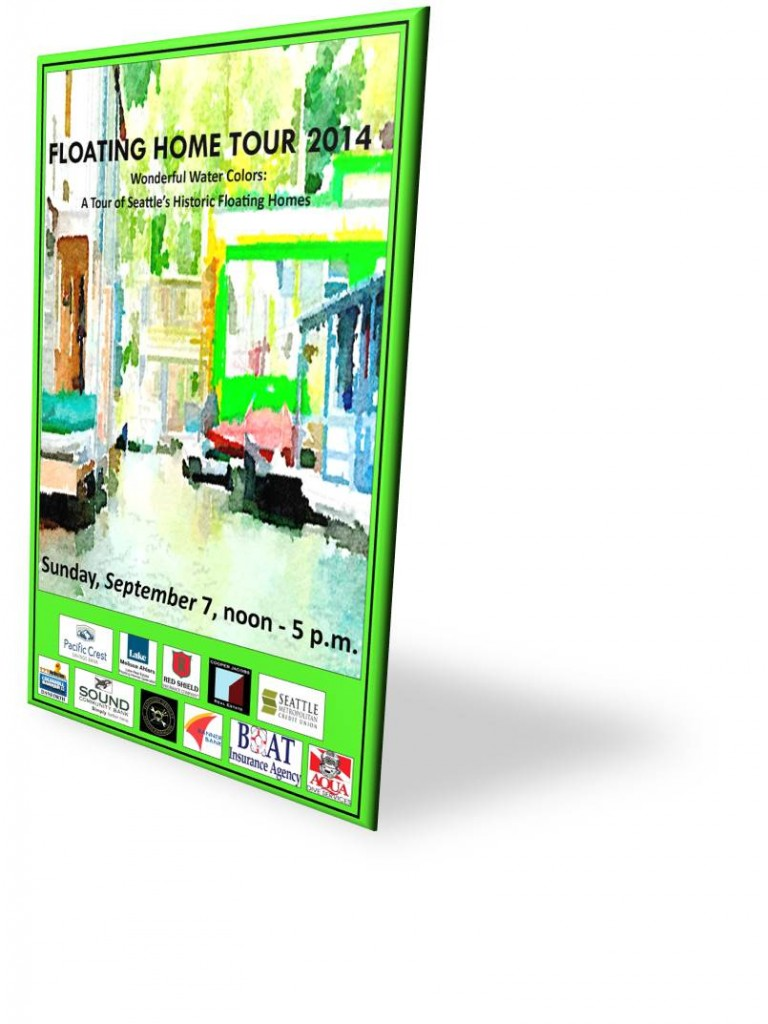Floating Home Tour 2014
