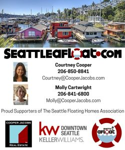 Proud Supporters of The Seattle Floating Homes Association