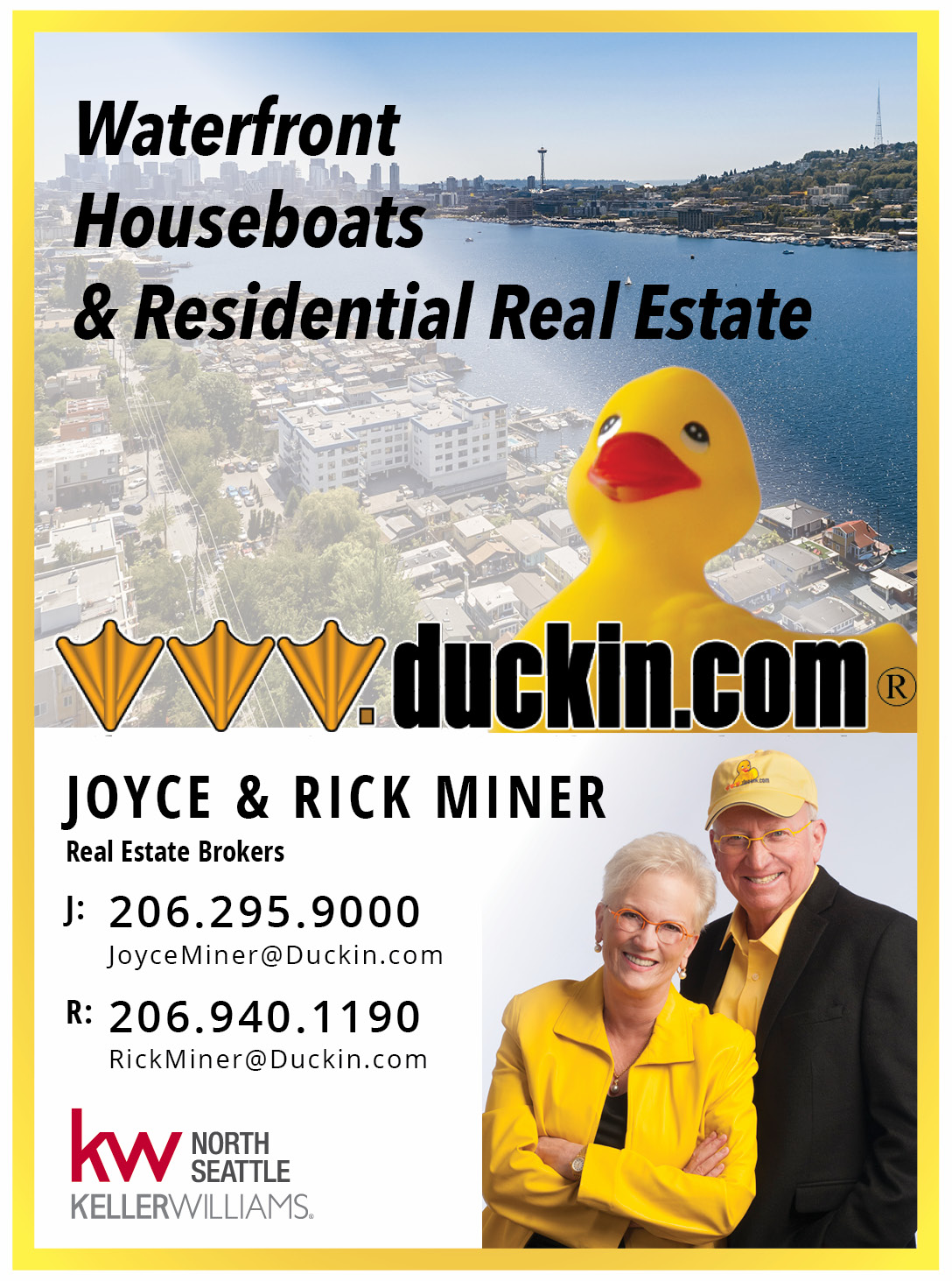 Rick and Joyce Miner Real Estate Brokers